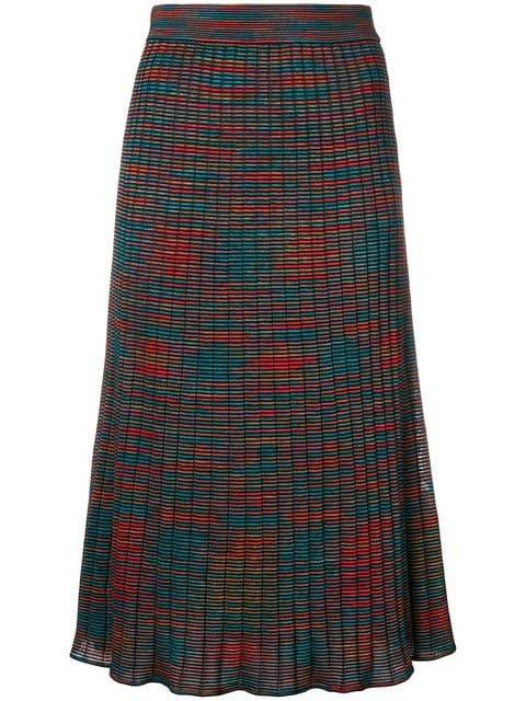 M Missoni Patterned Midi Skirt - Farfetch