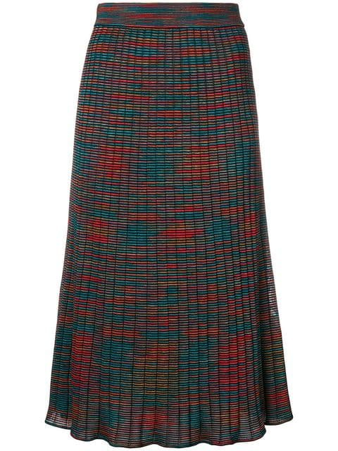 M Missoni Patterned Midi Skirt - Farfetch