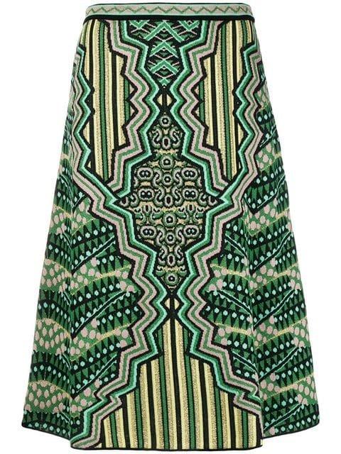 M Missoni A-line Midi Skirt  - Farfetch