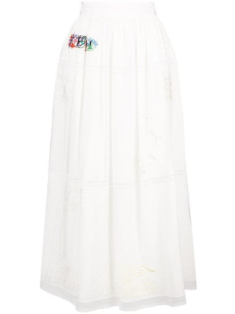 Fendi High-waisted Skirt - Farfetch