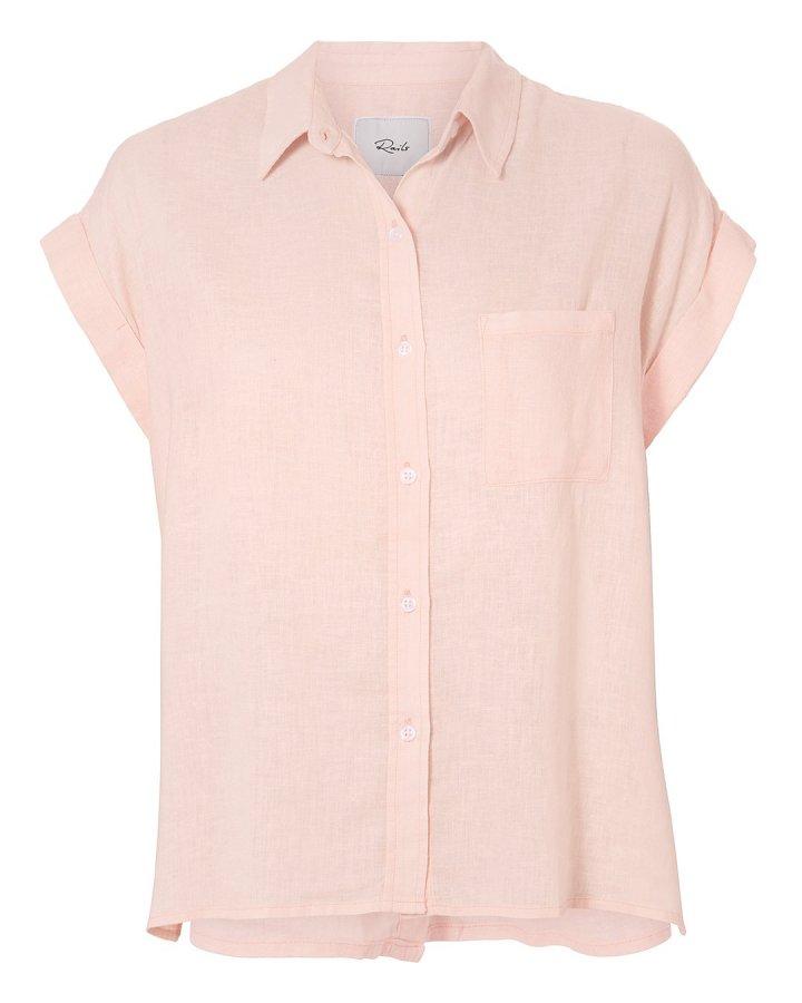 Jules Button Back Blush Shirt