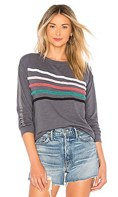 Chenille Stripes Pullover                                             SUNDRY