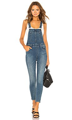 Slim Ankle Denim Overall                                             Free People