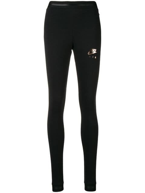 Nike Logo Print Leggings - Farfetch