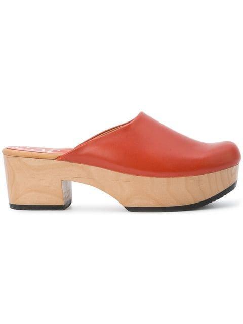 Calleen Cordero Chunky Heel Clog Mules - Farfetch