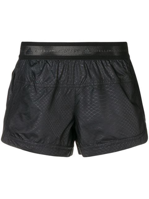 Adidas By Stella Mccartney Elasticated Waist Running Shorts - Farfetch