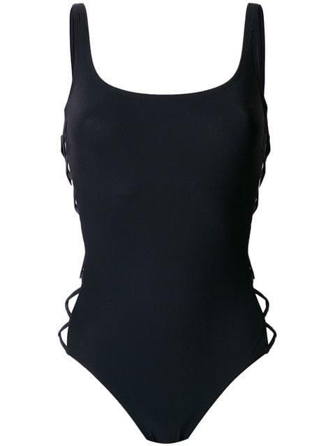 Tory Burch Criss-cross Sides One-piece Swimsuit - Farfetch