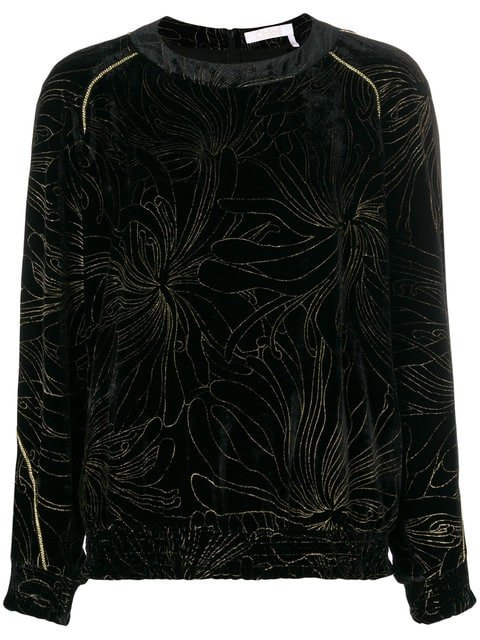 Chloé Embroidered Floral Blouse - Farfetch