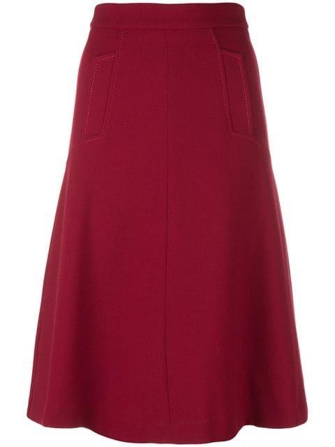 P.A.R.O.S.H. A-line Skirt - Farfetch