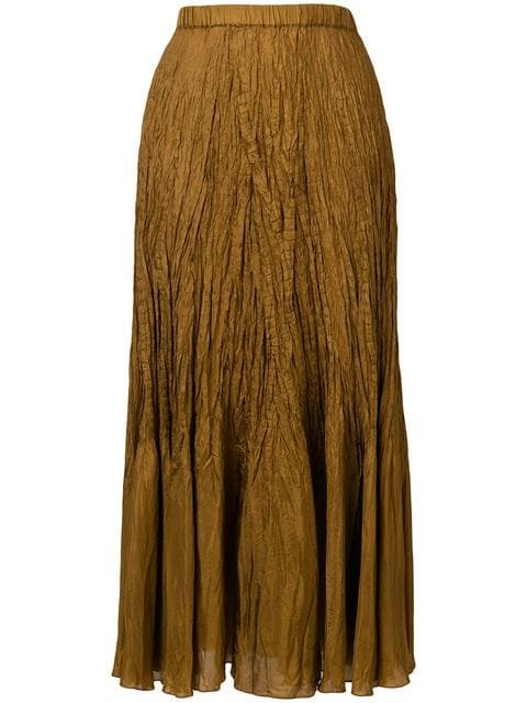 Mes Demoiselles Crinkled Texture Skirt - Farfetch