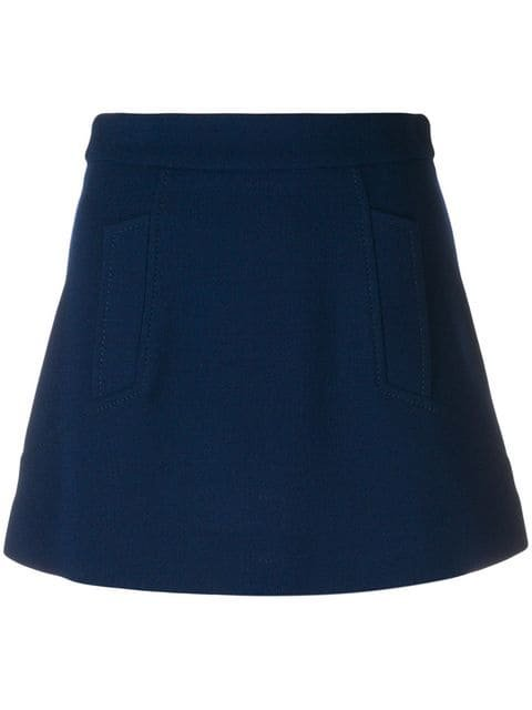 P.A.R.O.S.H. A-line Mini Skirt  - Farfetch