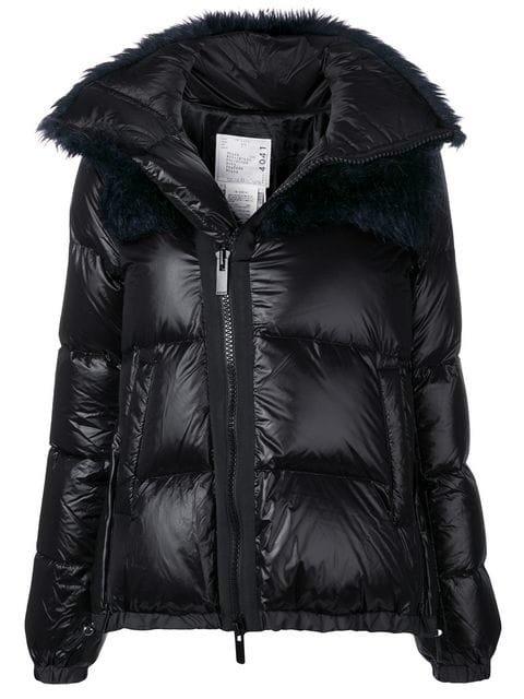 Sacai Padded Winter Jacket  - Farfetch