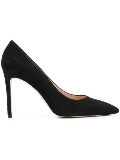 Stuart Weitzman Pointed Toe High-heel Pumps - Farfetch