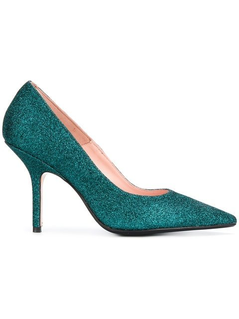 Anna F. Glitter Stiletto Pumps - Farfetch