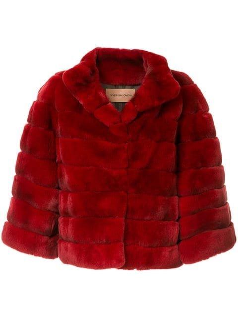 Yves Salomon Fur Jacket - Farfetch