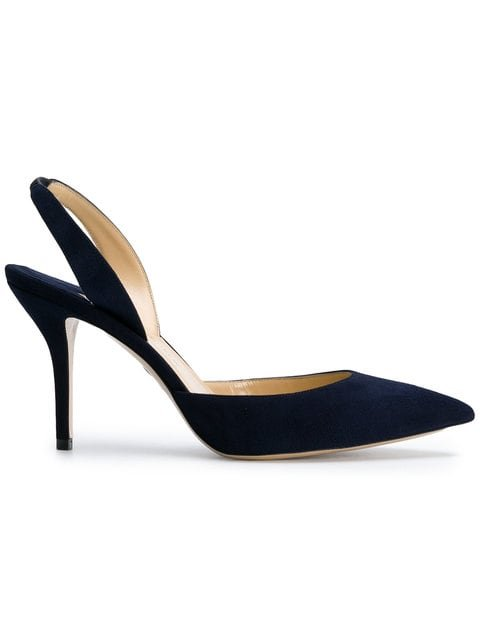 Paul Andrew Sling-back Pointed Pumps - Farfetch