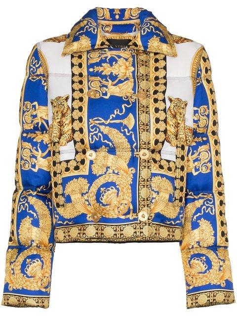 Versace Pillow Talk Puffer Jacket - Farfetch