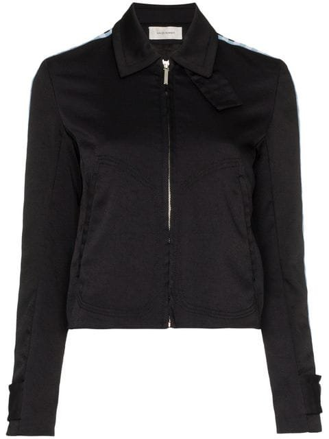 Wales Bonner Checked Sleeve Sports Jacket - Farfetch