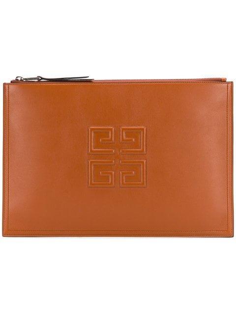 Givenchy 4G Logo Clutch Bag - Farfetch