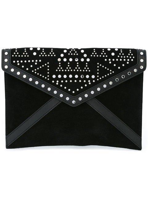 Rebecca Minkoff Studded Envelope Clutch Bag - Farfetch