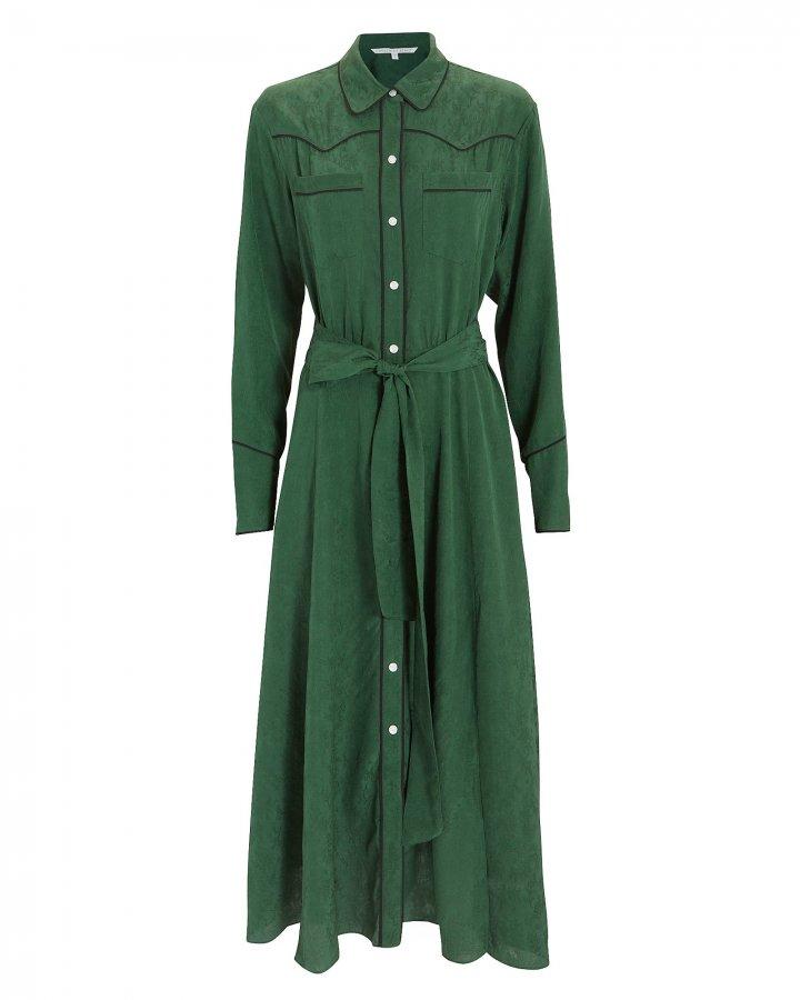 Spur Green Midi Dress