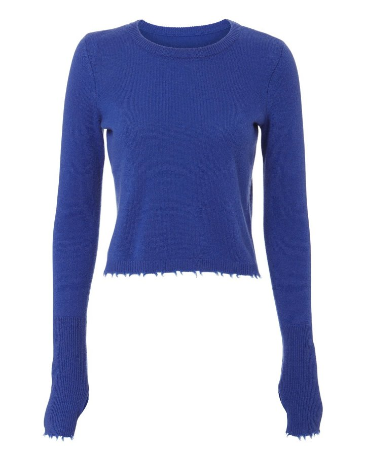 Valencia Cropped Cashmere Sweater