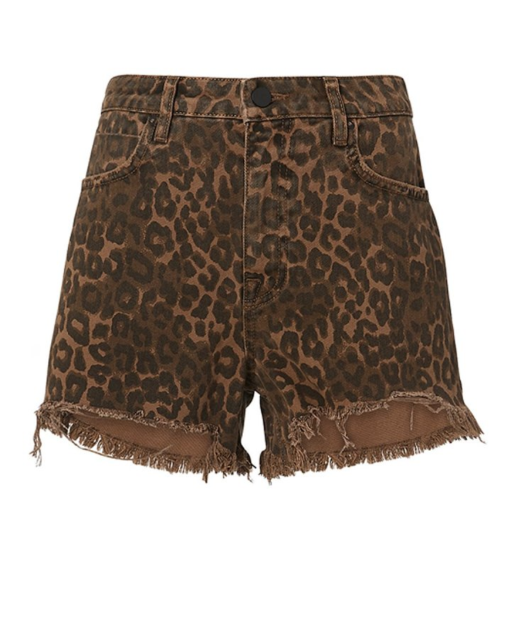 Bite Leopard Shorts