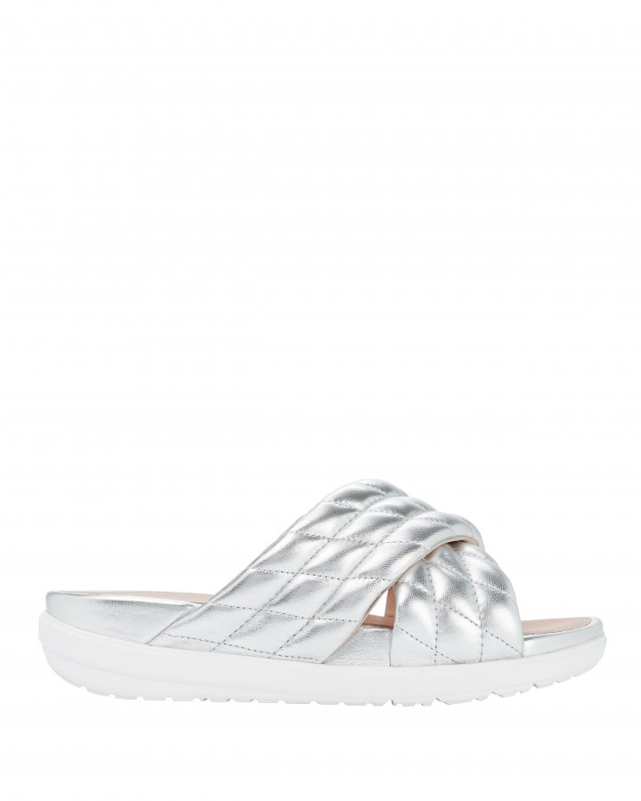Loosh Luxe Diamond-Quilted Sandals