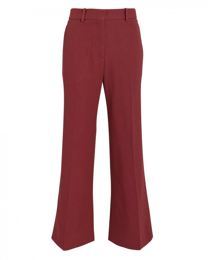 Cropped Kick Trousers