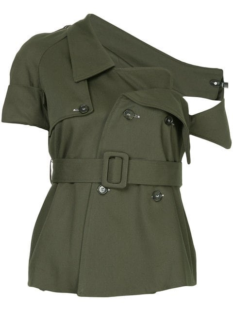 Monographie Deconstructed Trench Jacket - Farfetch
