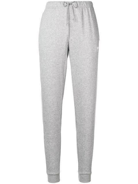 Adidas Cuffed Logo Track Trousers - Farfetch