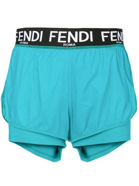 Fendi Sporty Running Shorts - Farfetch