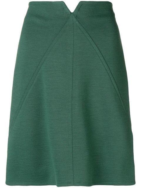 Courrèges High-waisted Short Skirt - Farfetch