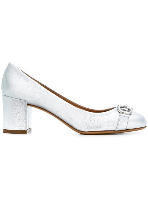 Salvatore Ferragamo Gancini Pumps - Farfetch