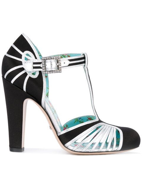 Gucci T-strap Pumps - Farfetch