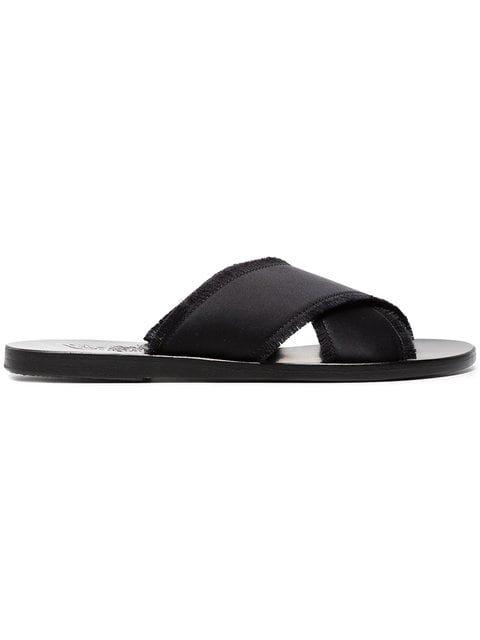 Ancient Greek Sandals Black Thais Leather Sandals - Farfetch