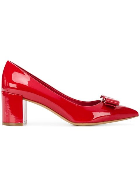 Salvatore Ferragamo Pointed Alice Pumps - Farfetch