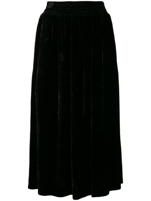 Golden Goose Deluxe Brand Velvet Midi Skirt - Farfetch
