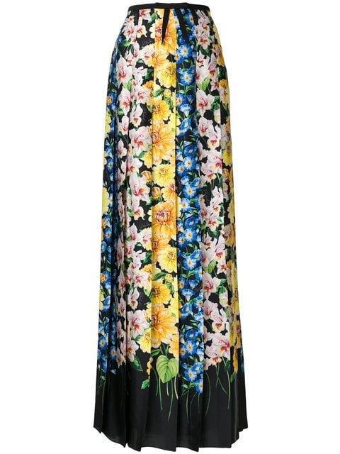 Gucci Florage Printed Skirt - Farfetch