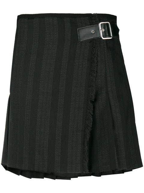 McQ Alexander McQueen Front Buckle Skirt - Farfetch