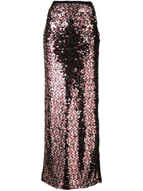McQ Alexander McQueen Sequin Embellished Skirt - Farfetch