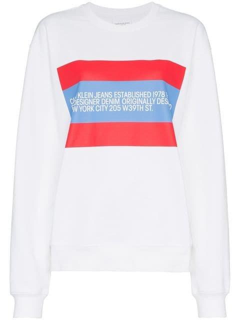 Calvin Klein Jeans Est. 1978 Patch Sweatshirt - Farfetch