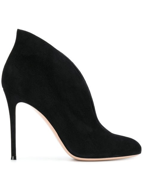 Gianvito Rossi Vamp Booties - Farfetch