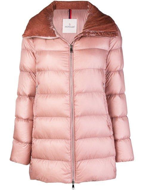Moncler Zipped Puffer Jacket - Farfetch