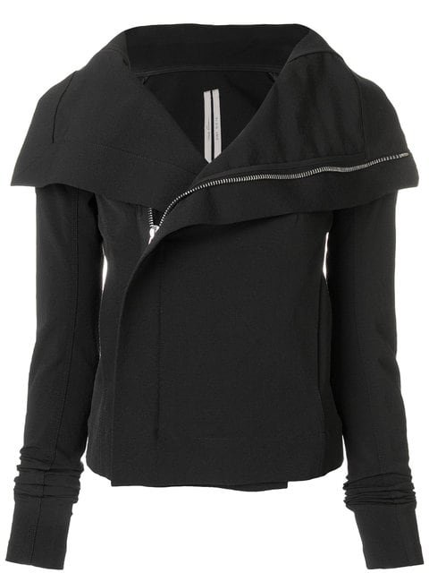Rick Owens Wrap Front Fitted Jacket - Farfetch