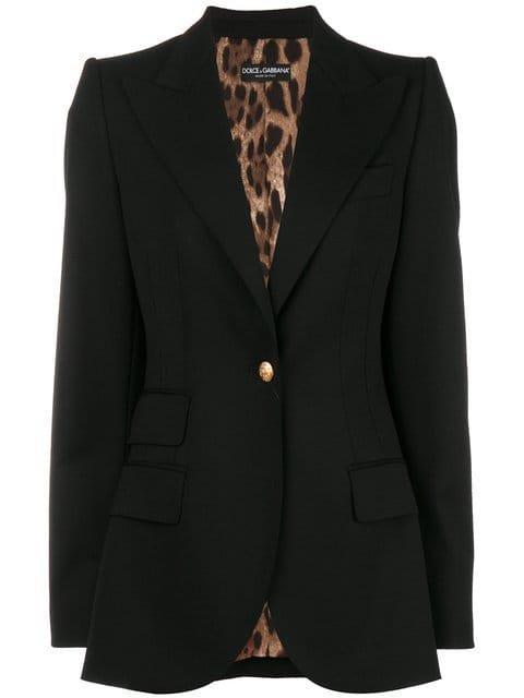 Dolce & Gabbana Classic Fitted Blazer - Farfetch