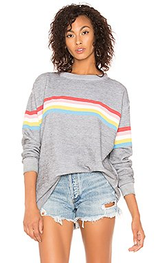 Marvel Stripe Roadtrip Sweater                                             Wildfox Couture