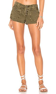 Cora Button Front Short                                             Free People