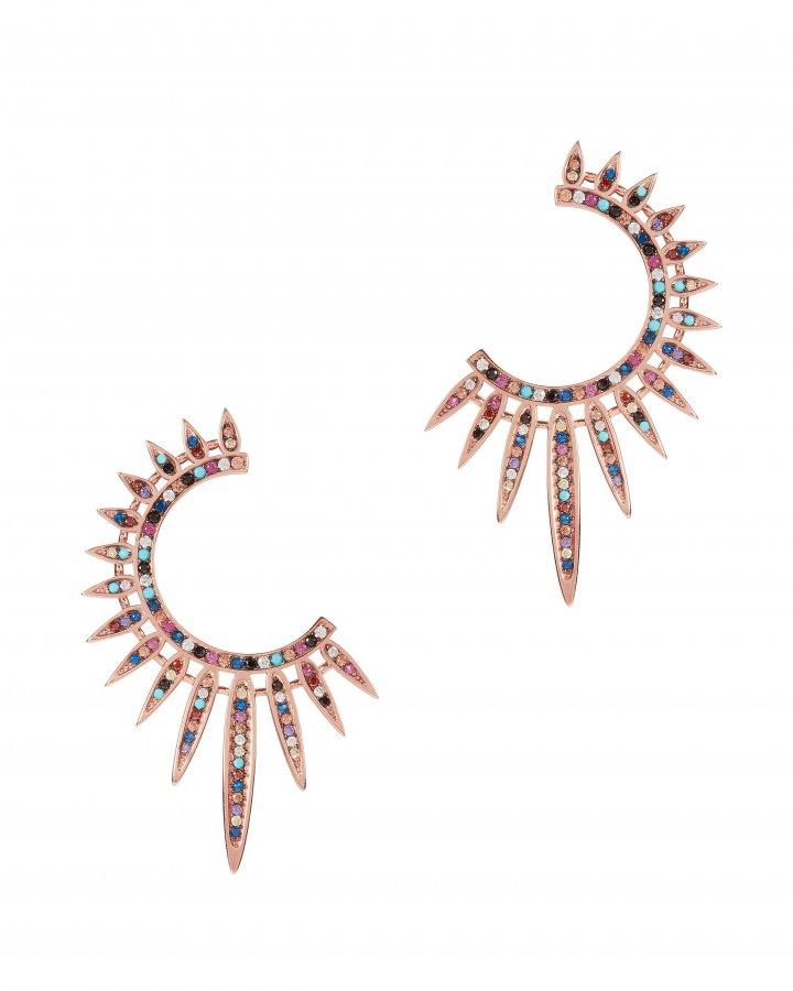 Statement Sunburst Earrings