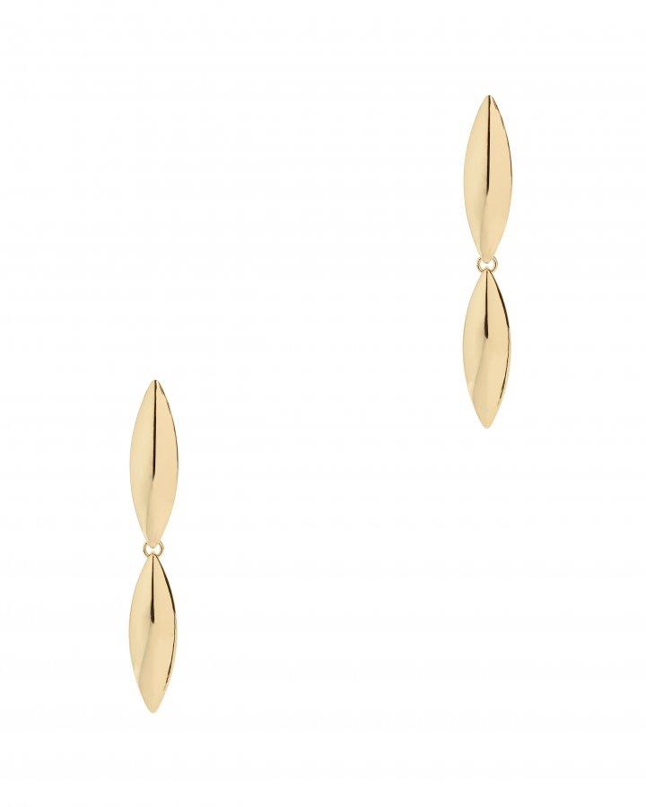 Talon Double Layer Earrings